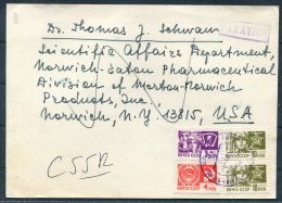 Vilnius Lithuania USSR Institute Of Biochemistry - Eaton Laboratories Norwich New York USA - Lithuania
