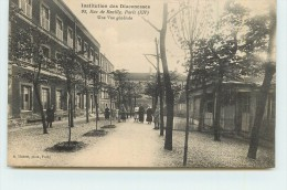 PARIS  -Institution Des Diaconesses, 95 Rue De Reuilly, Vue Générale. - Arrondissement: 12