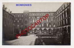 MOMIGNIES-LAZARET-Carte Photo Allemande-Guerre 14-18-1WK-BELGIQUE-BELGIEN- - Momignies
