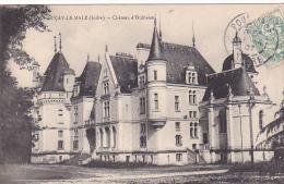 23596 LUÇAY Le MALE Indre Château D'Oublaise -sans Ed -