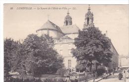 23597 LUNEVILLE - LE SQUARE DE L HOTEL-DE-VILLE- LL 20 - Luneville