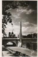 - PARIS - Statue De Sainte Geneviève Et Notre-Dame - - France