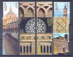 "2002 - Serie Completa "" Patrimonio Mundial "" Usada Edifil 3936/41 - 2001-10 Gebraucht"