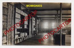 MOMIGNIES-Magasin Du LAZARET-Lingerie-Appareils-2x Cartes Photos Allemandes-Guerre 14-18-1WK-BELGIQUE-BELGIEN- - Momignies