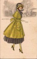 FASHION MODA DONNA  PRETTY WOMAN 1920 ILLUSTRATORE MAUZAN - Mauzan, L.A.
