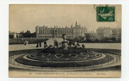 CP , 78 , SAINT-GERMAIN-en-LAYE , Le Château Et Le Parterre - St. Germain En Laye (Kasteel)