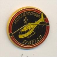 13-gc12. Pin Emblema Helicoteros. Guardia Civil De Tráfico - Policia
