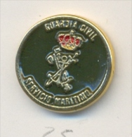 13-gc25. Pin  Emblema Servicio Marítimo. Guardia Civil - Policia