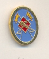 13-gc42. Pin  Emblema Caballería Guardia Civil - Policia
