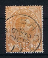 Italy:  Pacchi Postali 1884  Mi Nr 5 Sa 5 Used