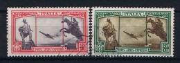 Italy:  Airmail Expresso 1932, Mi 406-407, Sa A37-38 - 1900-44 Victor Emmanuel III