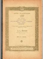 Livre De Partitions D'Airs Classique Par A.L. Hettich Professeur Au Conservatoire - Klassik