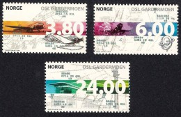 Norway Norge 1998 (10) - Commissioning Of The International Airport Oslo Gardermoen - Airplane - Noruega