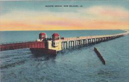 Lousiana New Orleans Maestri Bridge