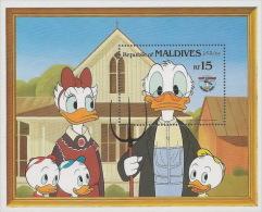 Disney Maldives 1984 MNH/**/NEUF/postfris/postfrisch D32 - Disney