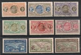 Saint Pierre Et Miquelon. 1909. Entre N° 78 Et 87. Oblit. Et Neuf * - Nuevos