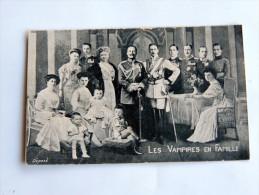 Carte Postale Ancienne : Les Vampires En Famille - Andere Beroemde Personen