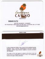 Casino Card - Budapest - Las Vegas Casino - Sofitel - Casinokarten