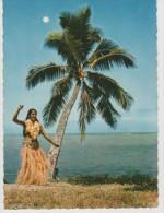 Polynésie :   Tahiti ,  Danseuse   Sur  La  Plage - Polynésie Française