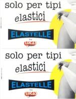 NUOVE - 519/520- TELECOM ITALIA-  COPPIA ELASTELLE- L.5.000/10.000- 2 SCHEDE - Italia