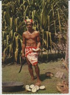 Polynésie :   Tahiti ,  Préparation  Du  Coprah - Polynésie Française