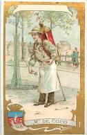 Chromos Réf. A 14-030. Chicorée A La Boulangère  Cradon Duverger Cambrai  Métier De La Rue Marchand De Coco - Tea & Coffee Manufacturers