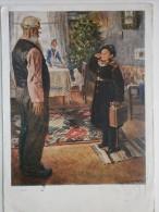 """VACATIONS"" - OLD USSR PIONEER - SUVOROVEZ - Postcard 1953 Pribil Na Kanikuli - Historia"