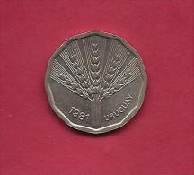 URUGUAY,  1981, Circulated Coin XF, 2 Nuevo Pesos, Copper-nickel-zinc, KM 77, C2036 - Uruguay
