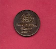 SWEDEN,  1955, Circulated Coin XF , 5 Ore, Bronze , KM 822, C2048 - Suecia