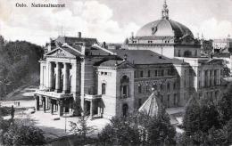 OSLO Nationalteatret, Karte Gel.1929, 2 Fach Frankierung, Verlag Eneret Mittet & Co - Schweden