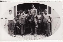Carte Postale Photo Militaire Camp D'ELSENBORN (Belgique)  Militaire Régiment N° 6-Guerre-Krieg - Elsenborn (camp)