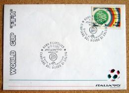 Ra006)   World Cup FIFA Germania Campione Del Mondo  FDC  - Calcio   Soccer - 1990 – Italia
