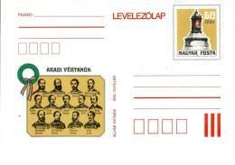 HUNGARY - 1979.Postal Stationery - Martyrs Of ARAD/Revolution 1848/49  MNH!!!Cat.No.282. - Postal Stationery