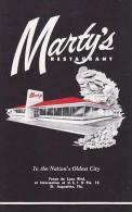 Florida St Augustine Martys Restaurant