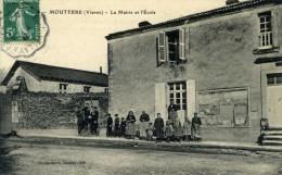 MOUTERRE La Mairie Et L'école - Autres Communes