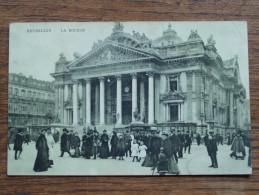 La Bourse - Anno 1910 ( Zie Foto Voor Details ) !! - Internationale Instellingen