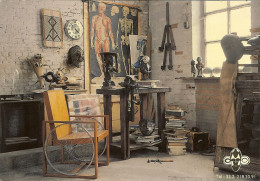 "CP De BRUXELLES ( Brussel ) "" Coin De L'atelier De L'artiste  J.R. Van OVERSTRAETEN "" . - Brussel (Stad)"