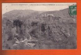 1 Cpa Le Pas De Cere Et Le Chateau De Tremoulet Vue De La Route Du Loiran - France