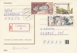 I2949 - Czechoslovakia (1981) 072 54 Lekarovce - Briefe U. Dokumente