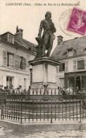 LIANCOURT - Statue Du Duc De La Rochefoucauld - 1933 - - Liancourt