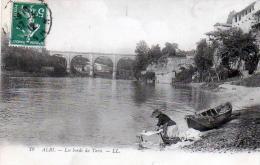 D81 - ALBI.- ( Tarn ) - Oblit 1912 -  Les  Bords  Du  Tarn - No19  - ( LAVENDIERE ) - Albi