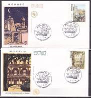 MONACO - 1er Jour / FDC . -  1990  -  Timbres De Carnet  -- - FDC