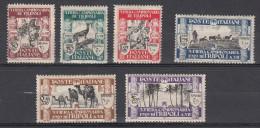LIBIA LIBYA 1929 TERZA FIERA MLH * NEUFS LIEVISSIMA TRACCIA DI LINGUELLA - Libyen