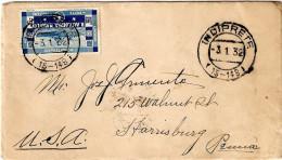 LETTERA CON TESTO AFFRANCATA R.ACCADEMIA NAVALE £ 1,25 - 1900-44 Vittorio Emanuele III