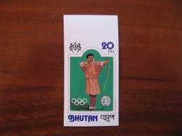 Bhutan 1976 Olympics 720 Imperf MNH - Zomer 1976: Montreal