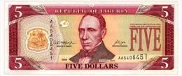 LIBERIA 5 DOLLARS 2006 Pick 26c Unc - Liberia