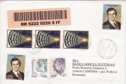 12 - Lettre Recomandee Circule Italie - Roumanie 2005 - 6. 1946-.. Repubblica