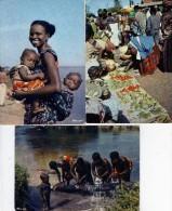 AFRIQUE EN COULEURS  LES 3 CARTES - Otros