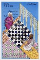 Echecs Bloc Neuf Somalie 1996 Histoire Chess Sheet MNH Somalia - Echecs