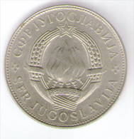 JUGOSLAVIA 10 DINARA 1977 - Jugoslavia